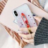 Schittert het Vloeibare Drijfzand van de lippenstift het Mobiele Geval van de Telefoon voor iPhone 7 7plus