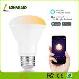 8W E26 WiFi intelligente helle esteuerte Glühlampe der Lampen-Smartphone/APP für Hauptdekoration