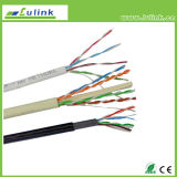 Solid 4 pares de cable de red CAT6un cable LAN SFTP