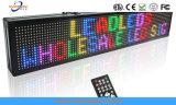 Segno esterno della strada LED di informazioni di telecomando P10 LED