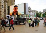Commerce de gros de la publicité pleine couleur numérique Affichage LED de panneaux