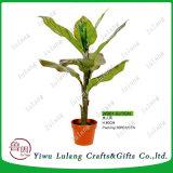 Творческие горячая продажа искусственных растений бонсай дерево в котел вентилятор Квай Таро дерева
