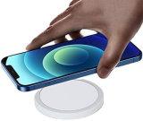 15W Qi magnetische draadloze oplader voor iPhone 12 PRO Max 12 Mini iPhone 11 PRO Max X Snel opladen voor de Galaxy S10 S9 S8, Opmerking 10 Opmerking 9 Opmerking 8 Huawei.