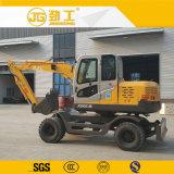 El chino perfecta calidad de la excavadora de neumáticos con martillo rompiendo a la venta