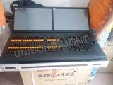 Ala calda del Fader dell'ala di comando di vendita con 2 la sezione comandi dell'indicatore luminoso della fase del regolatore degli schermi DMX