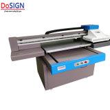 Formato pequeno UV Mesa Impressora 6090 para cobrir a Impressão com verniz