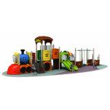 Jinshi adorável parque ao ar livre do parque de diversões para crianças itens de equipamento Thomas Plástica