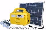 10W FM/MP3/l'appui du ventilateur du système d'éclairage d'accueil solaire/Kit/lumière pour les zones Electricity-Lack