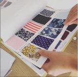 A Impressão Digital Direto da fábrica de tecido Voil para roupa de algodão