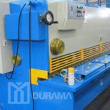 Hoja de acero para corte de metales, cortadora de la placa, máquina que pela de Durama de la guillotina hidráulica