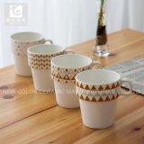 Pequeña leche Cup/10oz de los niños con los propios diseño/taza amontonable