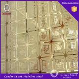 China Proveedores de placa de pared de acero inoxidable para la decoración