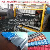 Het Spaanse Blad die van het Dakwerk PVC+PMMA/ASA Corragted Machine maken