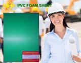 Feuille de mousse PVC vert épais