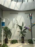 Luz de calle híbrida cero del panel solar del generador de turbina de viento de la contaminación