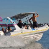 Barco de la costilla del lujo de Liya los 22ft con el motor externo para la venta