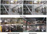 600-800 estrusore a vite integrato del gemello di disegno del barilotto di kg/h