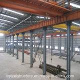 エネルギー有効な携帯用構築デザイン鉄骨フレームの構造の倉庫