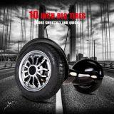 10 motorino elettrico d'equilibratura astuto di grande della gomma due di pollice della rotella di librazione della scheda auto del pattino