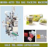 El té de la bolsa de filtro de la máquina de embalaje (capa interior y exterior, tag)