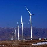 Torretta durevole di energia eolica in Cina