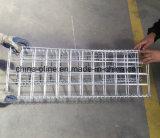 Сваренная высоким качеством гальванизированная каменная коробка Gabion ячеистой сети