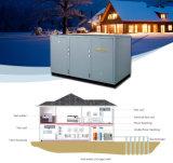 マンゴのEnergロシアの冷たい冬-25cの床暖房100~800sqのメートルHouse10kw/15kw/20kw /38kw/120kwのグリコールのループ塩水の水源のヒートポンプ