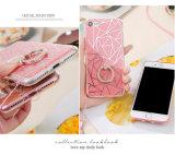Caso del polvo TPU PC del brillo para el iPhone 7 7 Polvos Brillo elegante cubierta del caso de Bling Bling