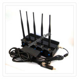 Cell Phone 5 Bandes Jammer / Blocker pour 2g + 3G + WiFi + Lojack; 5 Jammer Cell Antenna, Jammer GPS, Jammer WiFi