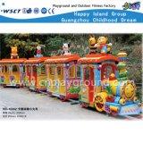 실행 장난감 (HD-10302)가 아이들 공원 만화 전기 트레인에 의하여 농담을 한다
