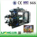 Ytb-41000高性能LDPEのフィルム袋のFlexoの印刷機械装置