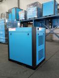 Compresseur d'air rotatoire réglable de vis de fréquence à faible bruit
