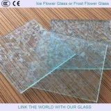 Стекло льда или цветок стекла мороза
