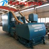 Horizontale Stahlplatten-Rostbeseitigung-Granaliengebläse-Maschine