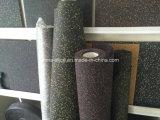 Yoga-Teppich mit bunten EPDM Punkten mit grüner Qualität