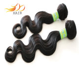 卸し売り7Aマレーシアのバージンの人間の毛髪ボディ波の毛は編む