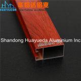 Perfil de Aluminio de Madera / Aluminio para Puerta / Ventanas de Aluminio de Madera