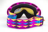 Gosses antibrouillard de lentille emballant des lunettes de sports d'accessoires de ski