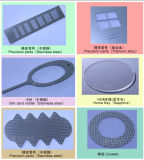 Estações de dupla precisão máquina de corte de fibra a laser