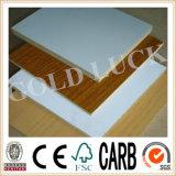 Placa de MDF melamina marina hoja para la fabricación de muebles y decoración.