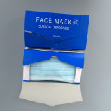 Máscara facial não tecida descartable 3 Ply Earloop Face Mask