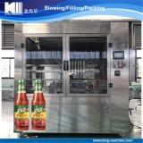 Máquina de embotellado de llenado de botellas para aceite de motor y mermelada pegar
