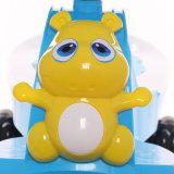 D'intérieur extérieur de couleur de bébé de véhicule bleu d'oscillation