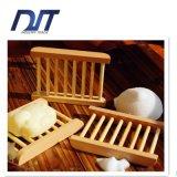 Rectángulo de bambú cómodo por encargo del jabón de Eco para la familia/el hotel