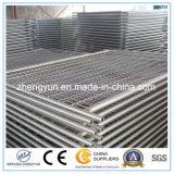 Preiswerter Maschendraht-Zaun, Metallzaun, temporärer Zaun