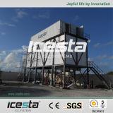 コンクリートの冷却のコンテナに詰められた氷プラント(IFCT-30T)