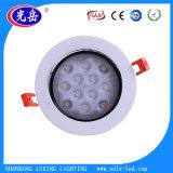 Plafonnier de la puce 3With5With7With9With12With15With18W DEL Dwonlight/LED de point culminant pour l'éclairage d'intérieur