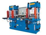 Der neue Entwurfs-hohe Leistungsfähigkeits-Doppelstation-Vakuumsilikon-Gummi, der hydraulische Presse-vulkanisierenmaschine formt