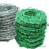 Охрана границы травы с покрытием из ПВХ/Glavanize колючей проволоки
