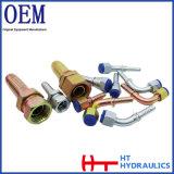Encaixe hidráulico padrão do conetor da tubulação do encaixe de mangueira de Eaton